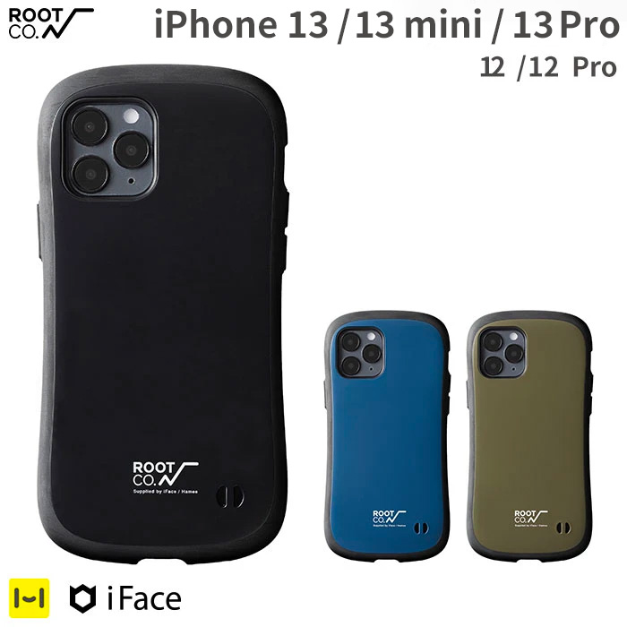 [iPhone 13/13 mini/13 Pro/12/12 Pro専用]ROOT CO. GRAVITY Shock Resist Case. /ROOT CO.×iFace Model