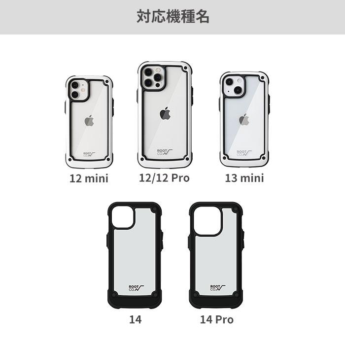 【iPhone 13/13 mini/13 Pro/12/12 mini/12 Pro専用】ROOT CO. GRAVITY Shock Resist                 Tough & Basic Case iPhoneケース