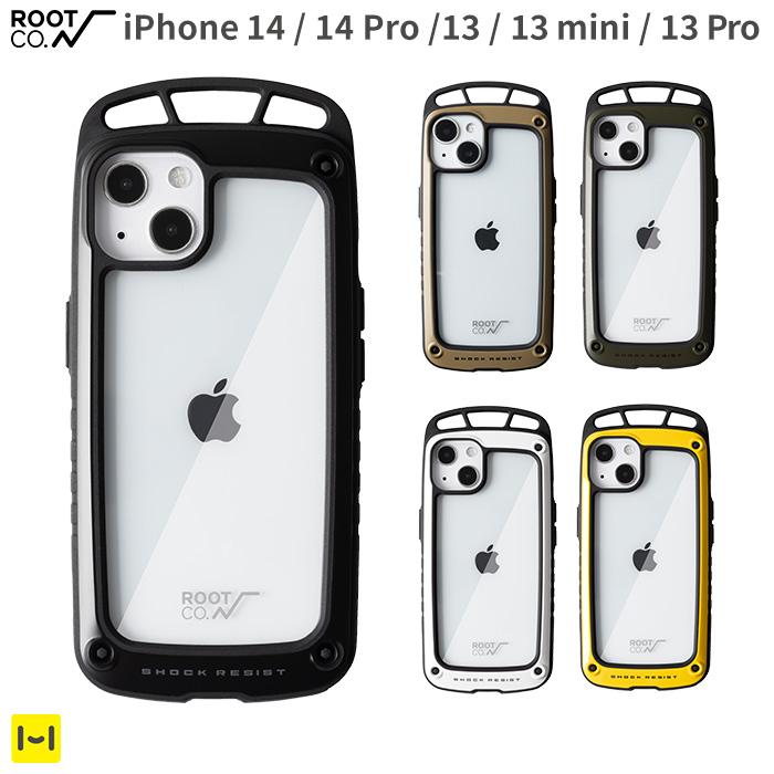 [iPhone 13/13 mini/13 Pro専用]ROOT CO. GRAVITY Shock Resist Case Elk.