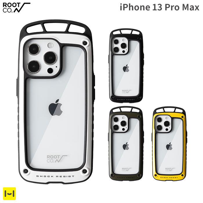 [iPhone 13 Pro Max専用]ROOT CO. GRAVITY Shock Resist Case Elk.