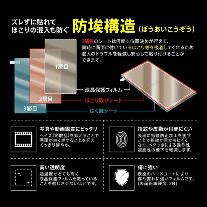 [Galaxy A20専用]液晶保護フィルム 指紋防止(光沢) Galaxy A20フィルム