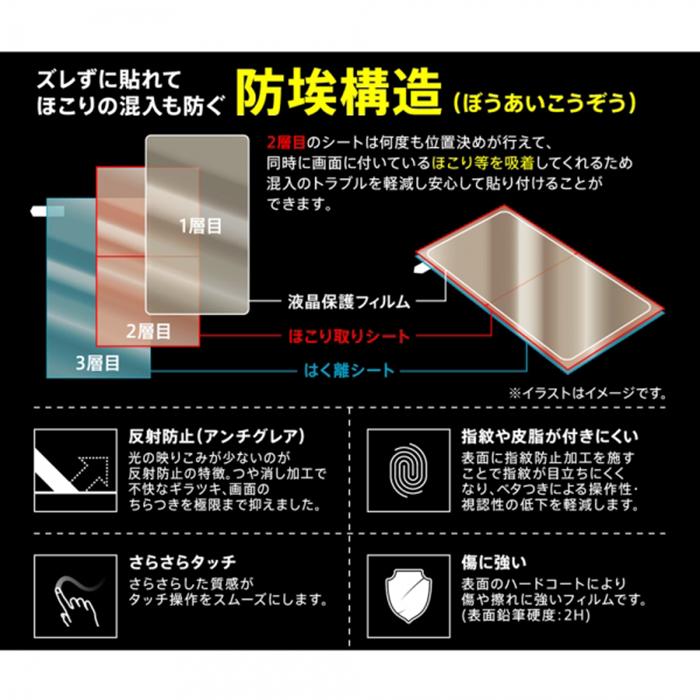 [Xperia 10 II専用]液晶保護フィルム(指紋・反射防止)