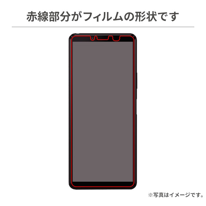 [Xperia 10 II専用]液晶保護ガラスコートフィルム(高光沢)