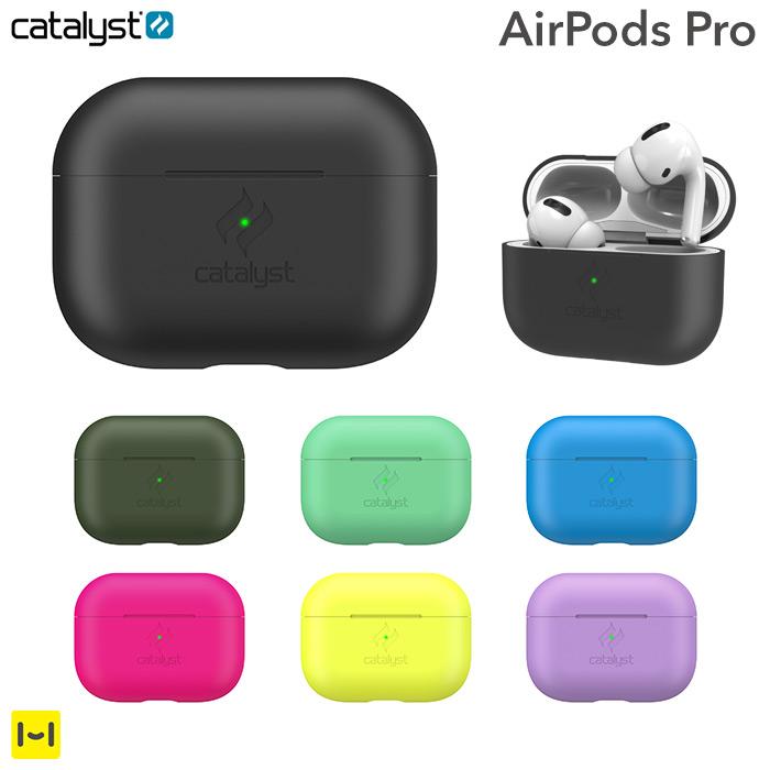 iPhoneケース ブランド [AirPods Pro専用]catalyst カタリスト 衝撃吸収スリムケース