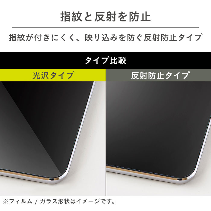 [Xperia 10 II専用]simplism [FLEX 3D] 反射防止ブルーライト低減複合フレームガラス(ブラック)