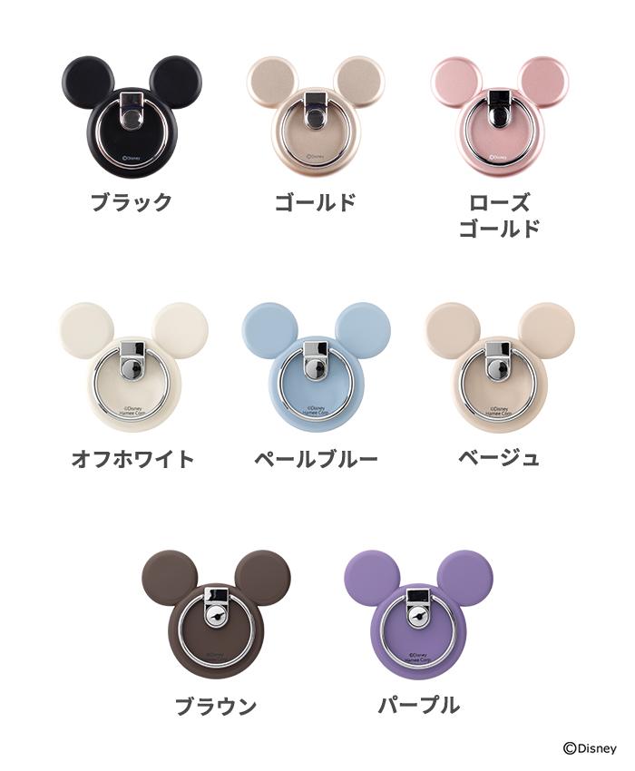 ディズニーキャラクター/バンカーリング(ミッキーマウスアイコン)