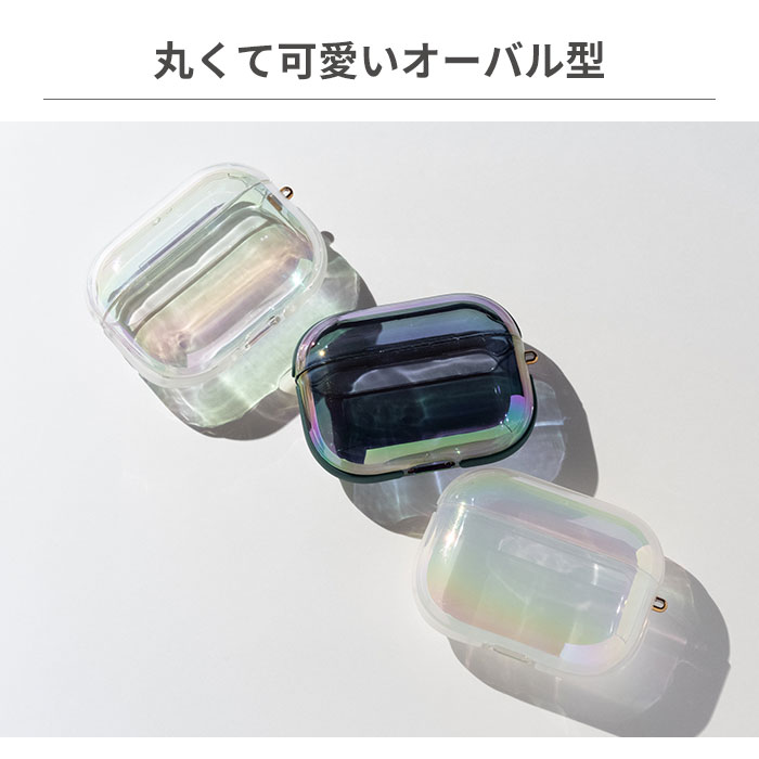 [AirPods Pro専用]EYLE AirPods Proケース TILE AURORA OVAL