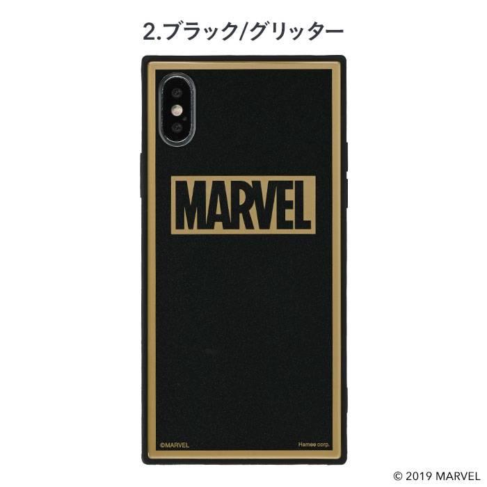 [iPhone XS/X ケース]MARVEL/マーベルTILEケース/ロゴ