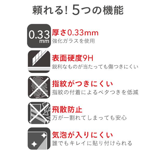 [iPhone X専用]MARVEL/マーベル プレミアムガラス9H 強化ガラス 背面保護シート0.33mm