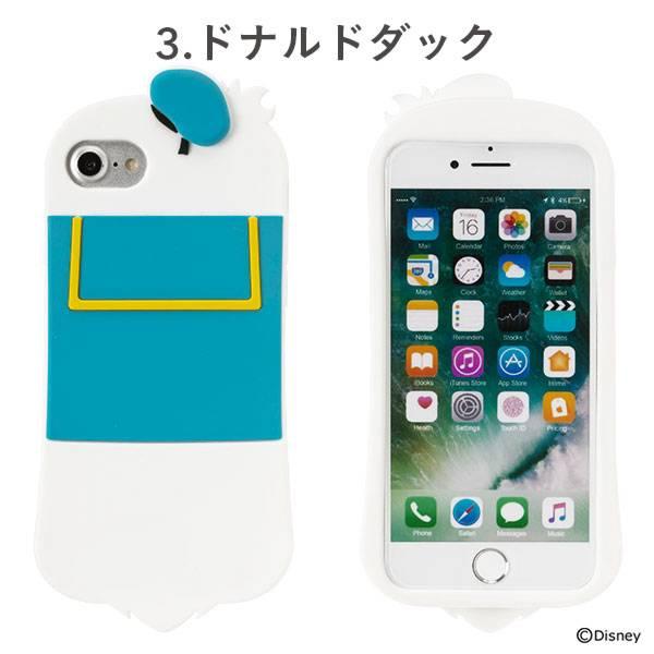[iPhone 8/7/6s/6専用]ディズニーキャラクター/シリコンケース