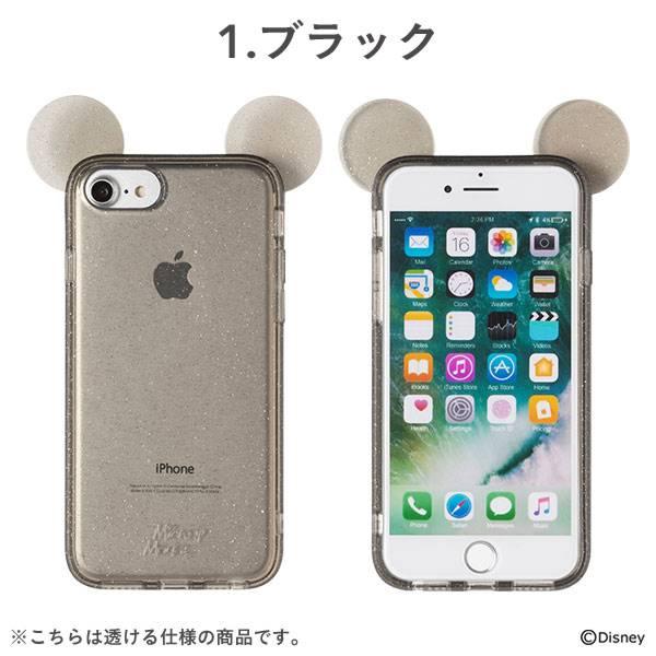 [iPhone 8/7/6s/6専用]ディズニーキャラクターキラキラTPUケース