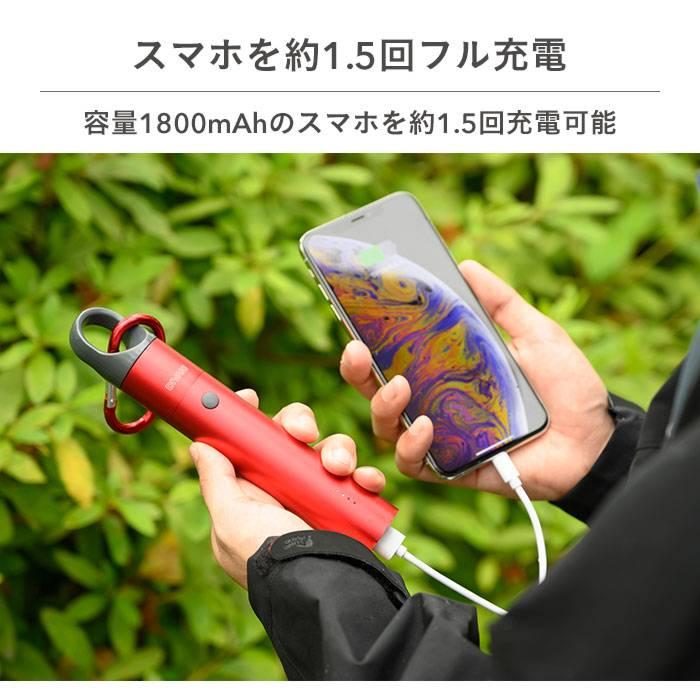 DIVAID 防水バッテリー 5000mAh IP65準拠