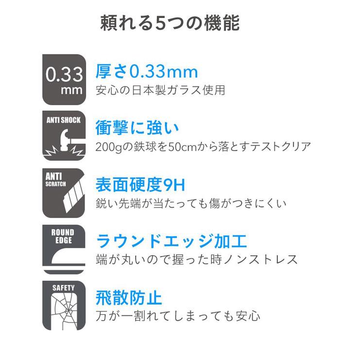 iFace Round Edge Color Glass Screen Protector ラウンドエッジ強化ガラスフィルム 液晶保護シート[iPhone11/11Pro/11Pro Max対応]