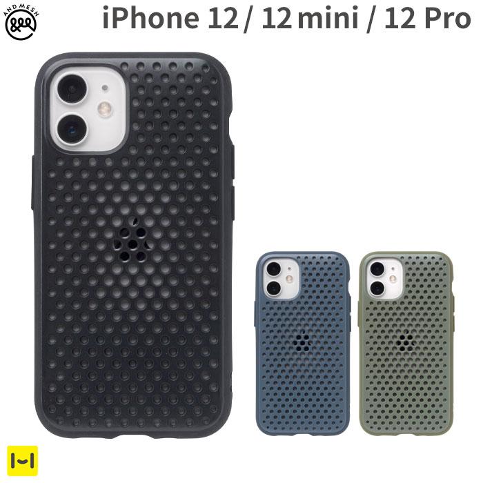 [iPhone 12/12 mini/12 Pro専用]AndMesh ハイブリッドiPhoneケース