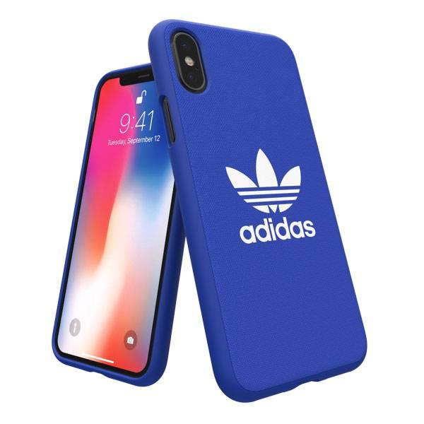 [iPhone XS/X ケース]adidas Originals Adicolor Moulded Case(Blue)