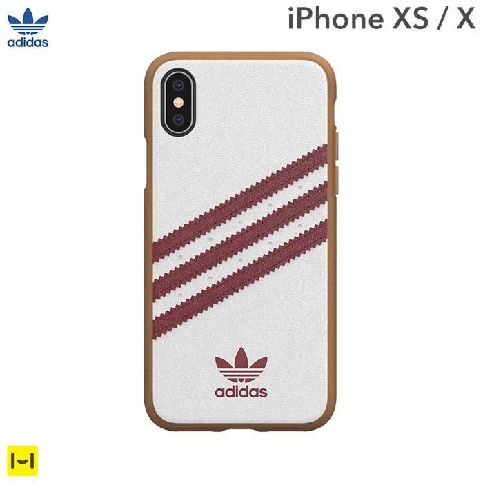[iPhone XS/X専用]adidas Originals Moulded Case SAMBA(Collegiate Burgundy)