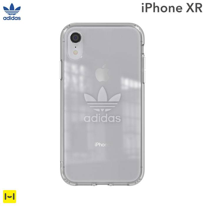 iPhoneXRケース adidas