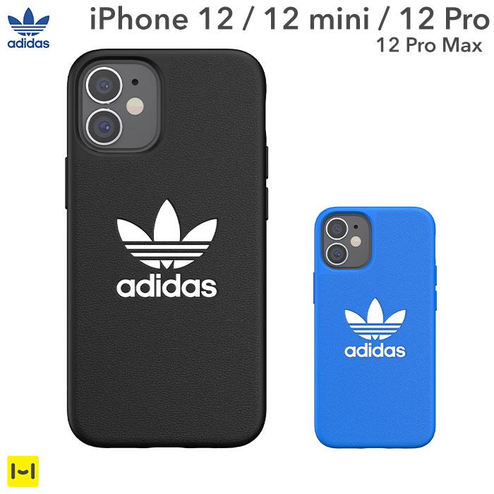 [iPhone 12/12 mini/12 Pro/12 Pro Max専用]adidas Originals Moulded Case BASIC