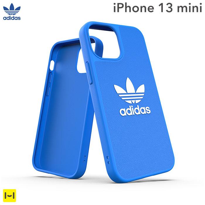 [iPhone 13 mini専用]adidas アディダス Originals Moulded Case BASIC(Bluebird/White)
