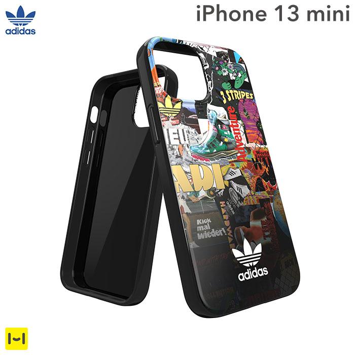 [iPhone 13 mini専用]adidas アディダス Originals TPU Case Graphic AOP(Colourful)