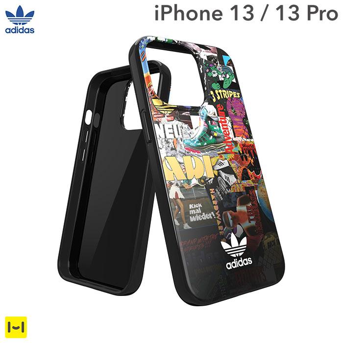 [iPhone 13/13 Pro専用]adidas アディダス Originals TPU Case Graphic AOP(Colourful)
