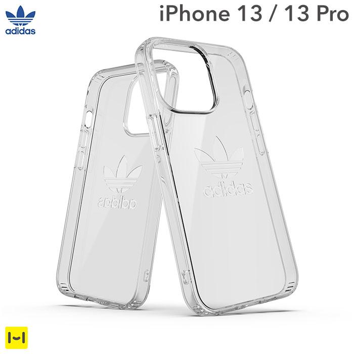 [iPhone 13/13 Pro専用]adidas アディダス Originals Protective Clear Case(Clear)
