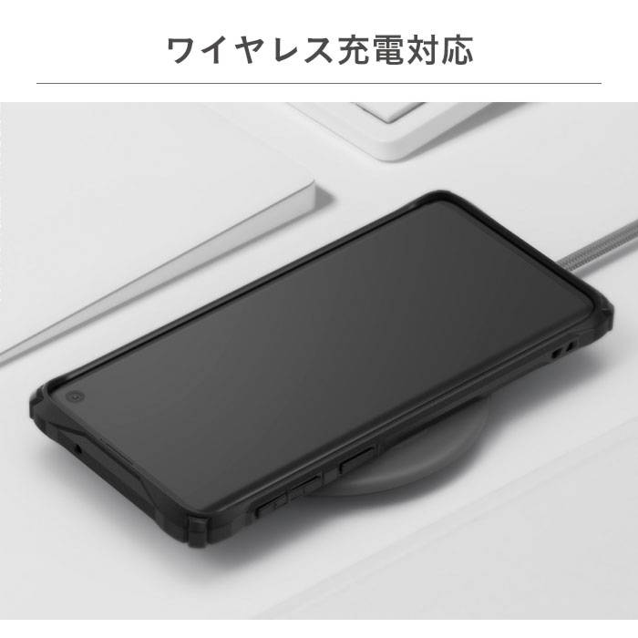 [GALAXY S10/S10+専用]Ringke FUSION X DESIGN 耐衝撃ケース