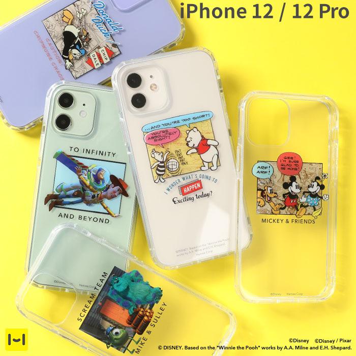 [iPhone 12/12 Pro専用]ディズニー/ピクサー/MARVELキャラクター HIGHER ハイブリッド iPhoneケース