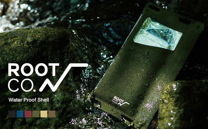 ROOT CO. H2O Water Proof Shell. /Smart Phone/IPX8