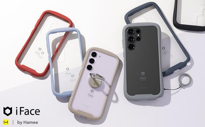[Galaxy S21 Ultra 5G/Note 20 Ultra/S21 5G/S21+ 5G専用]iFace Reflection強化ガラスクリアケース