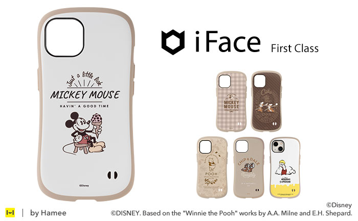 [iPhone 12/12 mini/12 Pro/11/8/7/SE(第2世代)専用]ディズニーキャラクター iFace First Class                 Cafe iPhoneケース