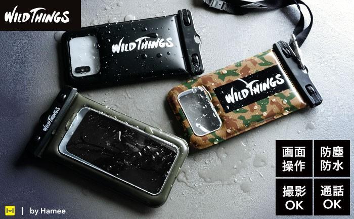 [各種スマートフォン対応]WILD THINGS(ワイルドシングス) DIVAID フローティング防水ケース【アパレル雑誌に多数掲載!】