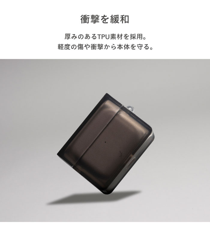 AirPods Pro ケース 透明 クリア salisty